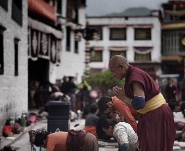 Тибет-монастырь