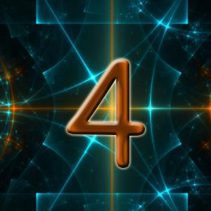 нейтральный ум, число четыре
