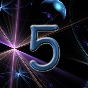 физическое тело, число 5