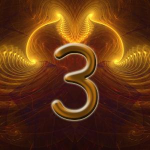 позитивный ум, число три