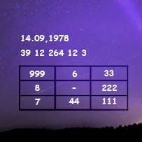 расчет квадрата Пифагора на основе матрицы