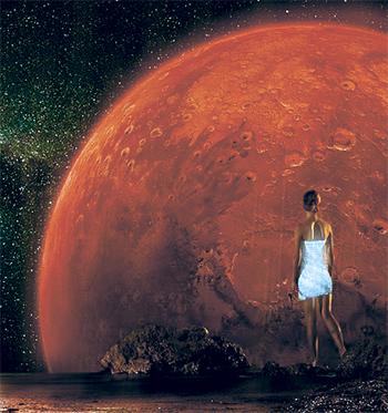 Марс в гороскопе женщины